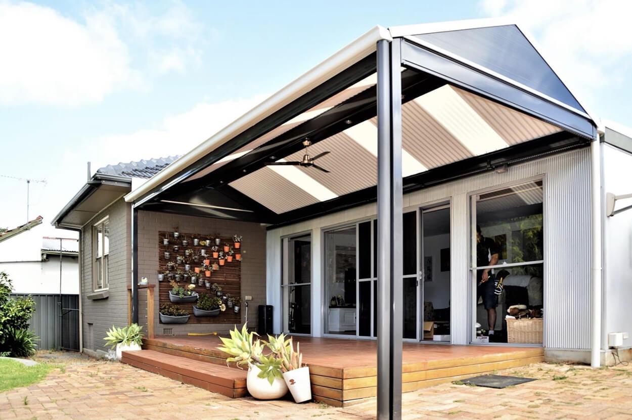 Wollongong Verandah design